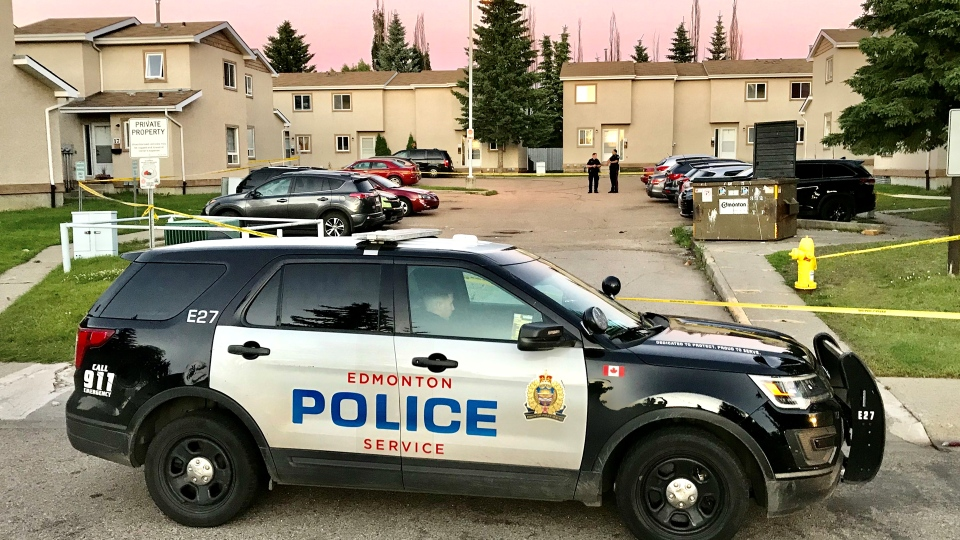 Police confirmed that a man died after an altercation in Mill Woods on Sunday. (Sean Amato/CTV News Edmonton)
