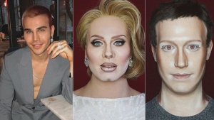 Watch this makeup artist turn into Adele