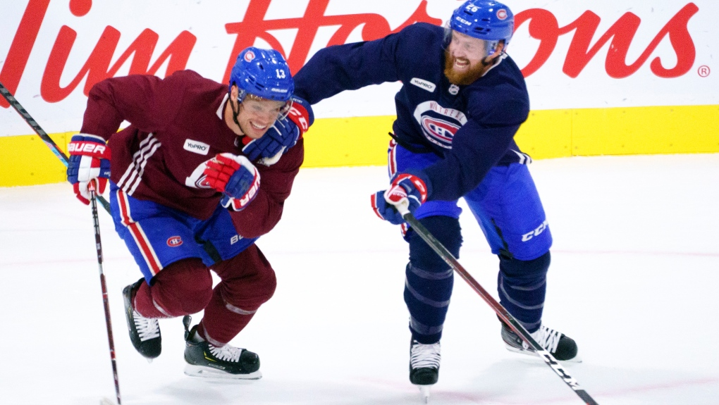 Montreal Canadiens Hold First Training Session In The Toronto Bubble Ctv News