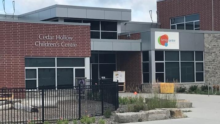 Cedar Hollow Children's Centre in London, Ont. is seen on July 27, 2020. (Sean Irvine/CTV News)