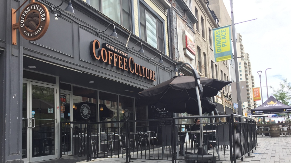 Coffee Culture on Dundas Place in London, Ont.