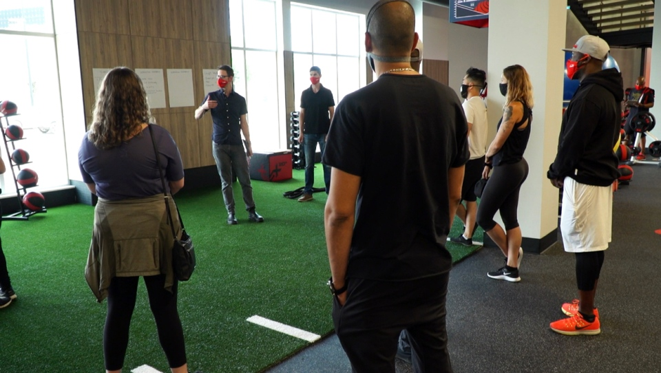 Fitness clubs and gyms such as Big Sky Fitness in Calgary are trying to adapt to a new normal in order to prevent COVID-19 outbreaks.