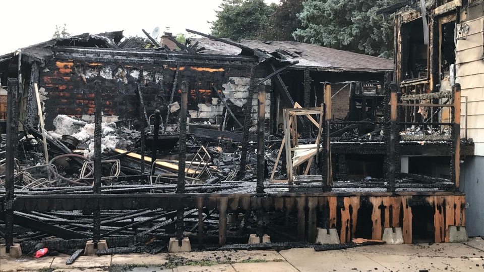 Fire crews responded to a call for a fire on Rouse Avenue on July 27, 2020