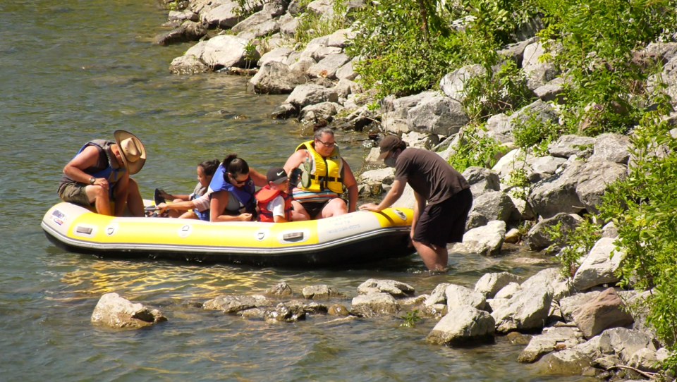 Lazy Day Raft Rentals anticipate the busiest week of the year this week, with high temperatures and only one city pool open to help Calgarians beat the heat in the pandemic