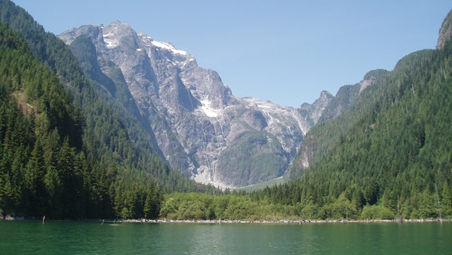 This image of Stave Lake is seen in a file photo from BC Hydro.