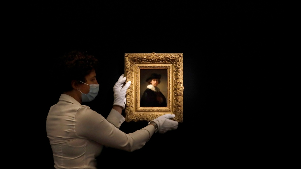 Rembrandt Self-Portrait Sells for $18.7 Million at Sotheby's
