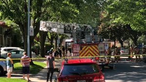 A 12-year-old girl has died following a fire in a LaSalle home that kept her trapped in the basement.