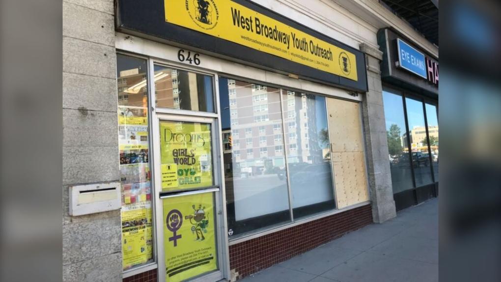 West Broadway stabbing