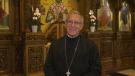 Father Alex Michalopulos of Ottawa's Dormition of The Virgin Mary Greek Orthodox Church contracted COVID-19 in April. (Shaun Vardon / CTV News Ottawa)