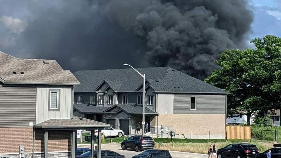 Rouse fire smoke