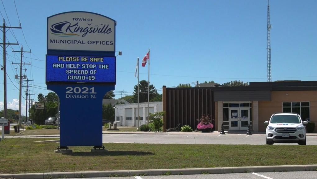 Kingsville town hall