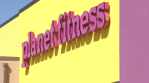 The Planet Fitness location in Saskatoon. (Laura Woodward/CTV News)
