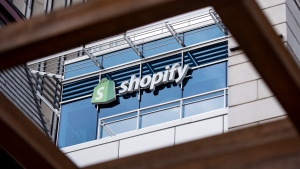 The Ottawa headquarters of Canadian e-commerce company Shopify is pictured on Wednesday, May 29, 2019. THE CANADIAN PRESS/Justin Tang