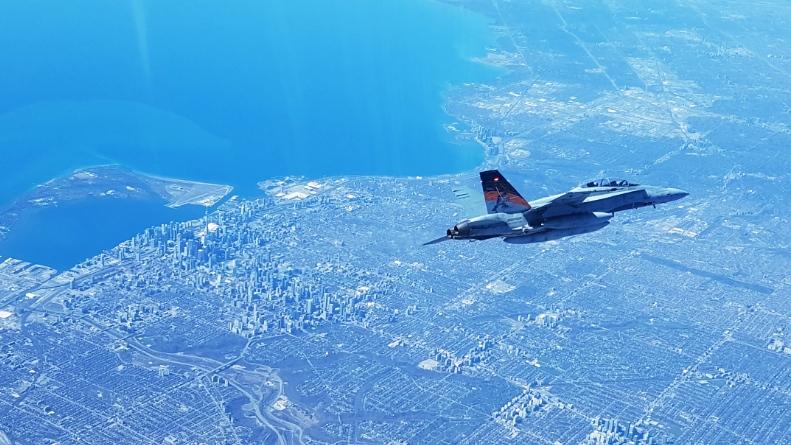 Toronto fighter jets