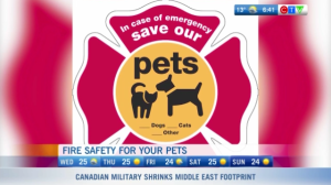 Pet fire safety, Kidde Canada