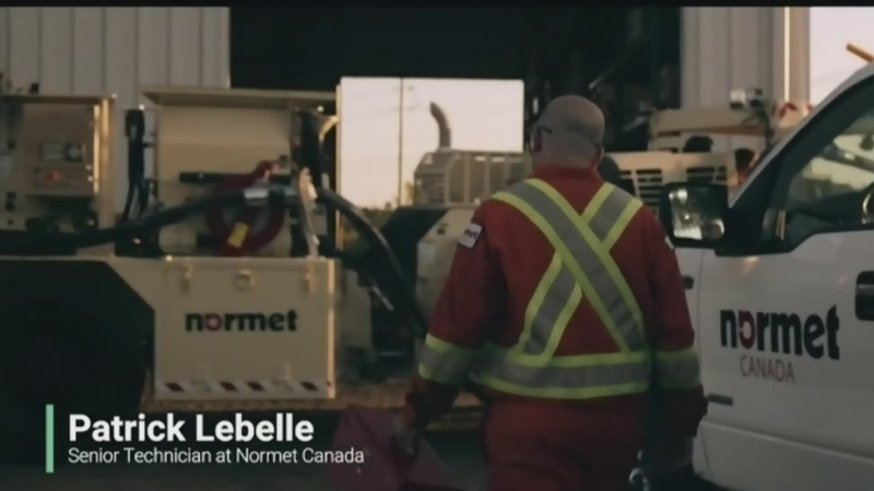Normet Canada is featured in Sudbury Thrives a video by Mathieu Seguin (Supplied)