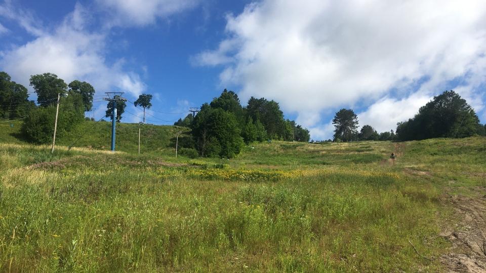 North Bay's Laurentian Ski Hill in July