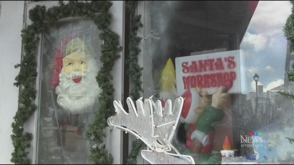 Film brings Christmas to Galt