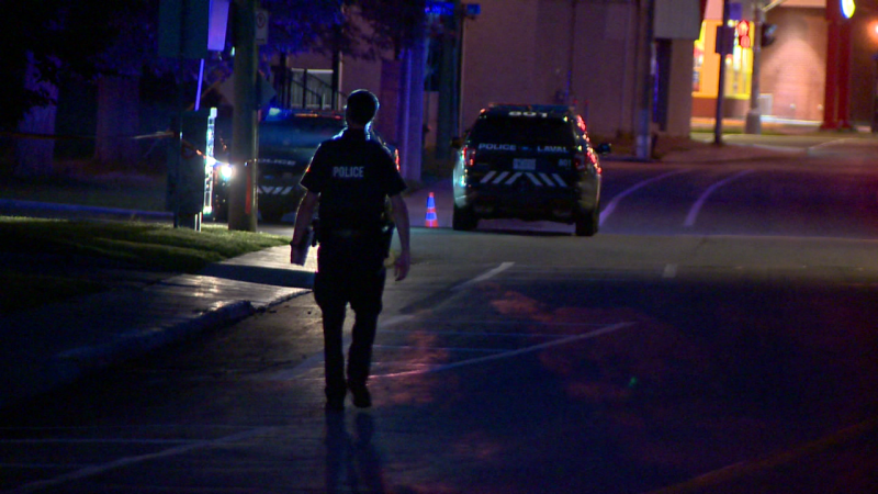 Police are investigating a shooting that left one teen dead in Laval on Thursday night / Cosmo Santamaria, CTV Montreal