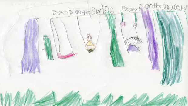 Presley Rutters, 7 years old, Chesterville Public School