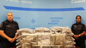 Cocaine seizure at Halifax yacht club