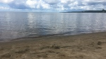 Beach on Lake Nipissing in North Bay where a man sexually assault a young girl and performed indecent acts. Jul. 30/20 (Eric Taschner/CTV Northern Ontario)