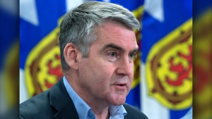 Stephen McNeil told reporters Thursday the attorney general will ask the Serious Incident Response Team to assess whether there was criminal misconduct by police during the period before the appeal of Glen Assoun's conviction. (THE CANADIAN PRESS)