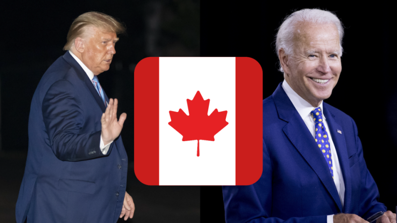 Things Trump and Biden have said about Canada