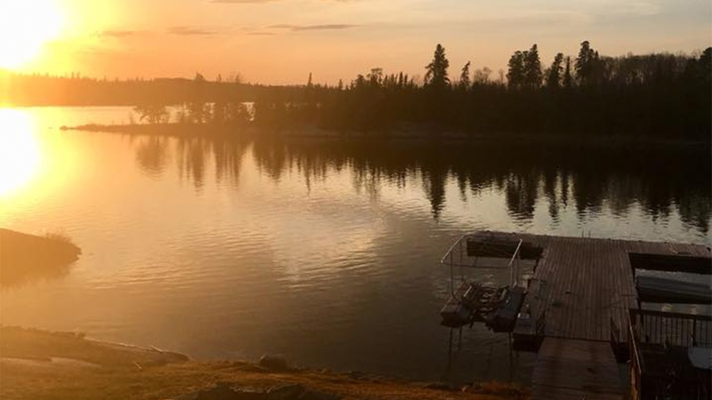 The attack happened on July 25, at the North Star Village, a fishing and hunting resort in Minaki, Ont. located approximately 52 kilometres north of Kenora. (Source: North Star Village Resort/ Facebook)
