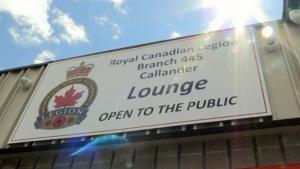 Callander Royal Canadian Legion reopens