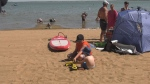 Saskatchewan residents beating the heat