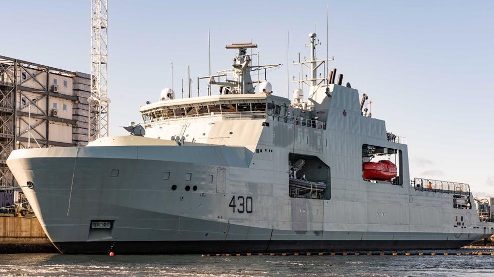 Harry DeWolf vessel
