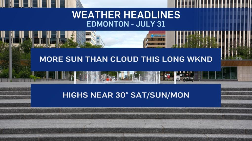 July 31 weather headlines