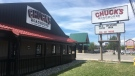 Chuck's Roadhouse on Tecumseh Road East in Windsor, Ont., on Friday, July 31, 2020. (Bob Bellacicco / CTV Windsor)