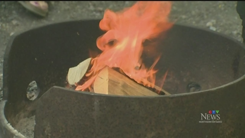 Fire pit (CTV Northern Ontario)