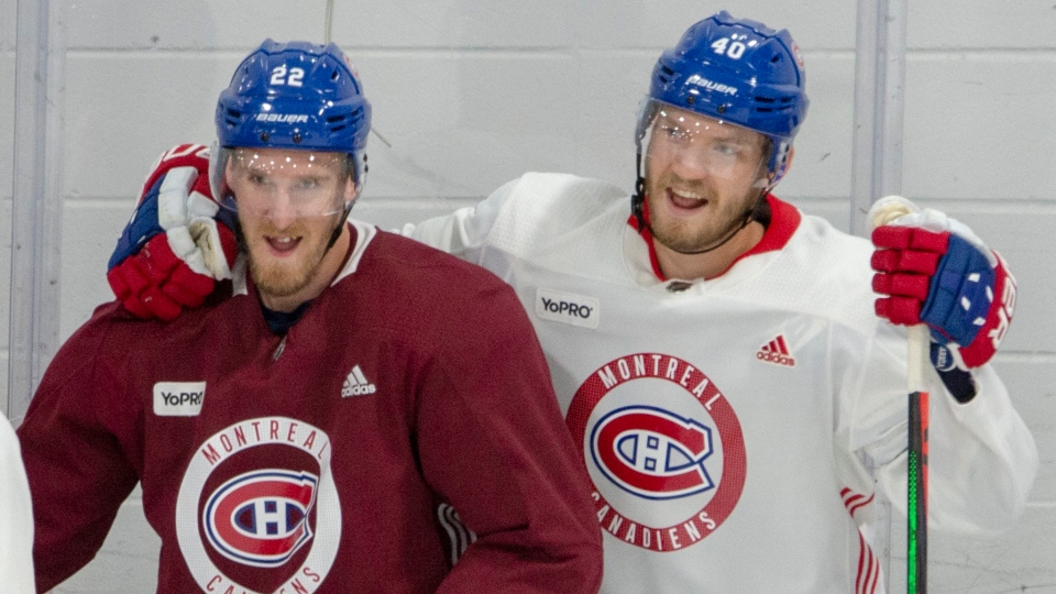 Dale Weise and Joel Armia