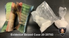 Cocaine and cash seized in Windsor, Ont. (Courtesy Windsor police)
