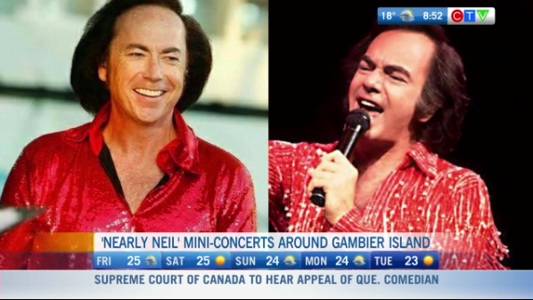 Nearly Neil, Neil Diamond impersonator