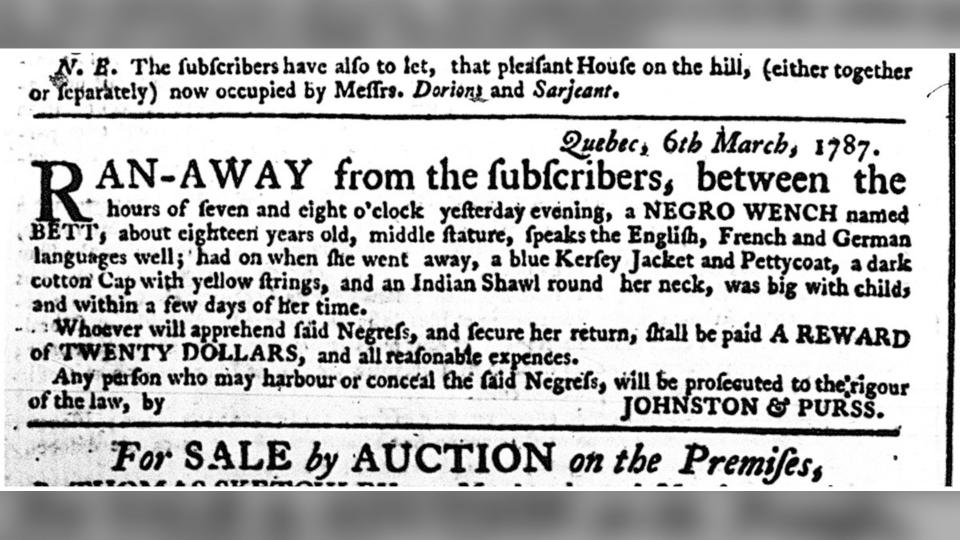 Bett runaway ad