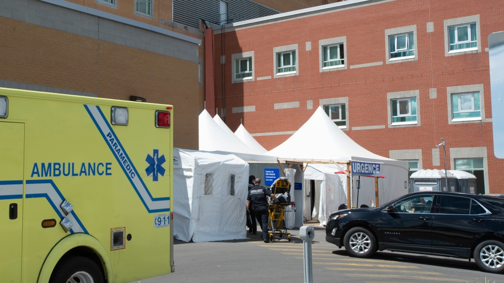 Outbreak at Saint-Eustache hospital