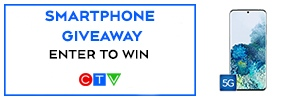 Smartphone Giveaway button