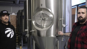 Better Brothers Brewing Company owners Jeff  and Nathan Rushton.