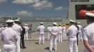 Navy welcomes HMCS Harry DeWolfe in Halifax