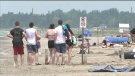 Beach closures due to overcrowding expected