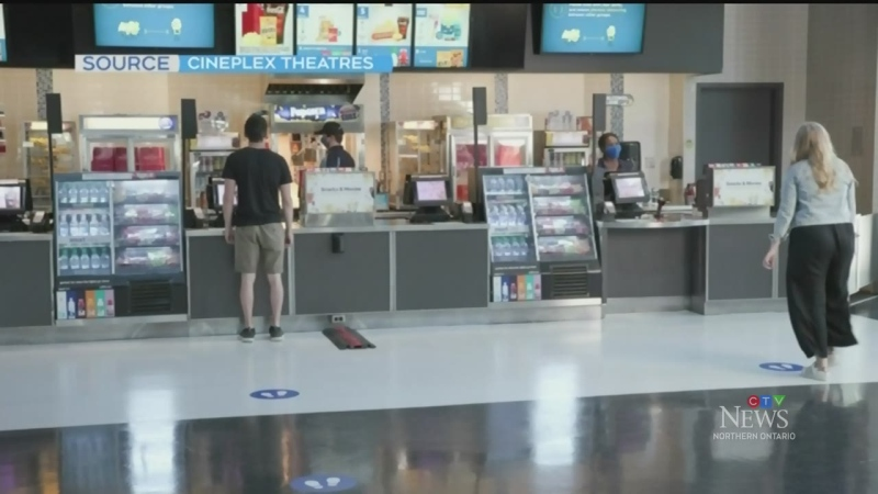 Movie theatre reopens in Sudbury