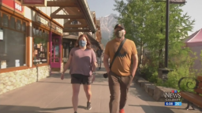 Banff makes masks mandatory