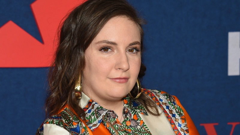 "FILE - Lena Dunham attends the premiere of the final season of HBO's ""Veep"" on March 26, 2019, in New York. (Photo by Evan Agostini/Invision/AP, File)"