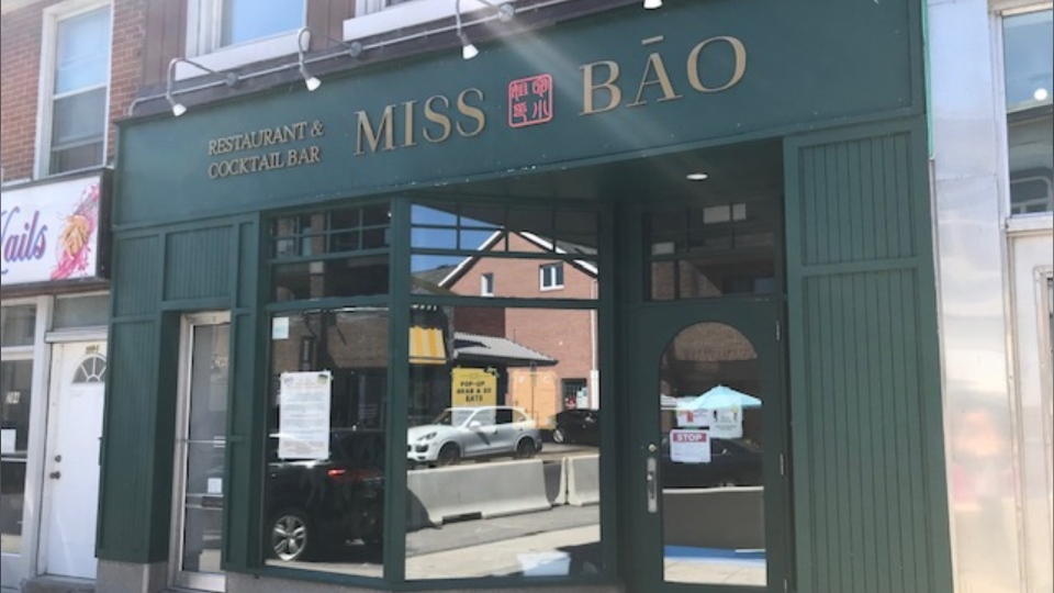 Miss Bāo Restaurant and Cocktail Bar in Kingston, Ont. (Kimberley Johnson / CTV News Ottawa)