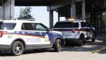 Saskatoon police investigate a reported homicide at the Saskatoon Inn on August 1 (Chad Leroux/CTV Saskatoon)