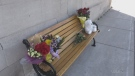 Condolences left on Ingersoll bench